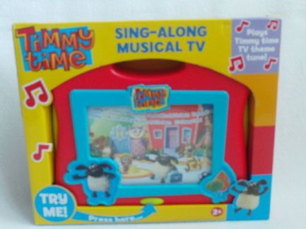 Adorable My 1st Musical 'Timmy Time' Sing Along T.V. Toy BNIB